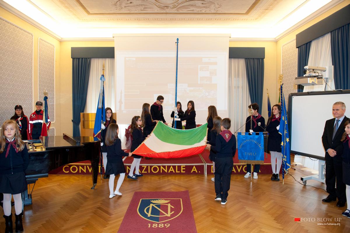 bandiera italiana convitto tivoli