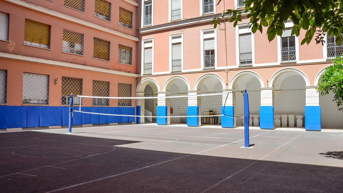 campo da pallavolo convitto tivoli